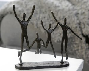 Gietijzer sculptuur