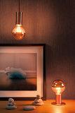 LED AGL 7,5 W E27 230 V kopspiegel koper 2700K_