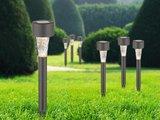 Solar Tuinverlichting set van 6st. rond, grondspies  klein_