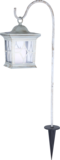 Solar Tuin Lataarn vierkant  flikkerend licht wit_