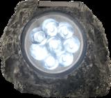 Solar Tuinlamp steen 8xLED_