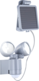 Solar wandlamp met 2 spots_
