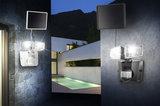 Solar 6500K bouwlamp met 2 spots grijs _