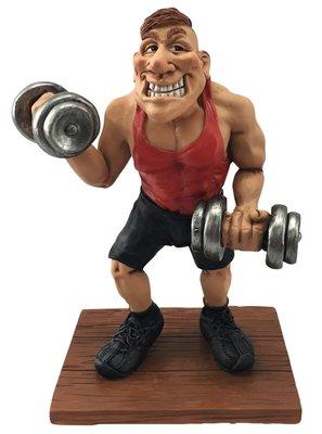 Sport beeldje Bodybuilder
