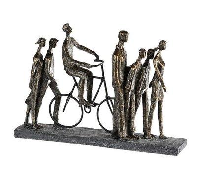 Beeldje Gezamenlijk de weg vinden sculptuur