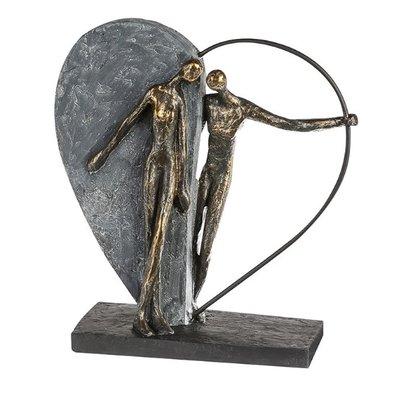 Beeldje Elkaar vinden in de liefde sculptuur