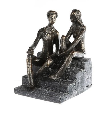 Beeldje Goed overleg sculptuur VOORVERKOOP