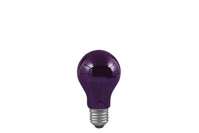 AGL blacklight 75W E27 95mm 55mm blacklight
