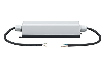 Function YourLED voeding (trafo) IP65 60W 230/12V DC grijs/zwart Kunststof