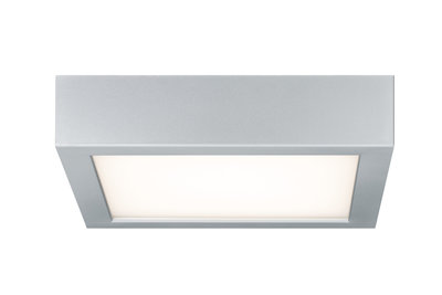 WallCeiling Space LED-paneel 200x200mm 11W 230V chroom mat/wit kunststof