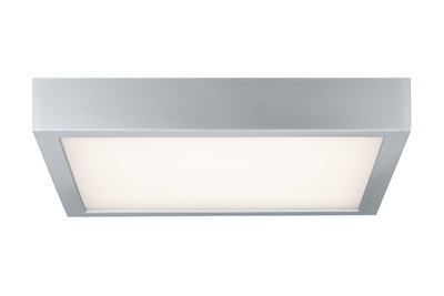 WallCeiling Space LED-paneel 300x300mm 16,5W 230V chroom mat/wit kunststof