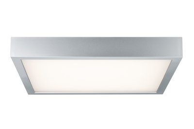 WallCeiling Space LED-paneel 360x360mm 18,5W 230V chroom mat/wit kunststof