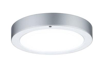 Wandplafond Smooth LED-paneel 210mm 7,5W 230V chroom mat/wit metaal/kunststof