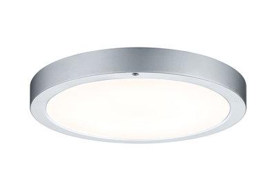 Wandplafond Smooth LED-paneel 300mm 11W 230V chroom mat/wit metaal/kunststof