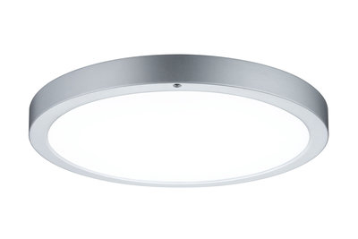 Wandplafond Smooth LED-paneel 360mm 13W 230V chroom mat/wit metaal/kunststof