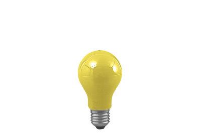 AGL 25W E27 55mm geel