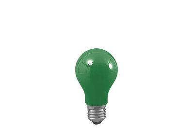 AGL 25W E27 55mm groen