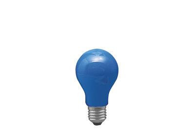 AGL 40W E27 55mm blauw