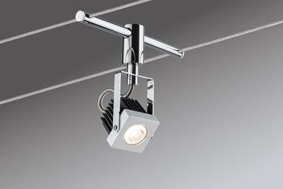 Kabelset, LED, 5x5 W, Mezzo 230/12 V, wit