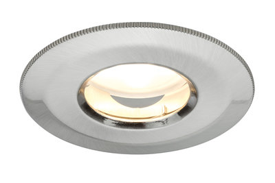 Prem inb IP65 Coin dimb satijn star LED 1x7W 230V 51mm ijzer geb/alu zink