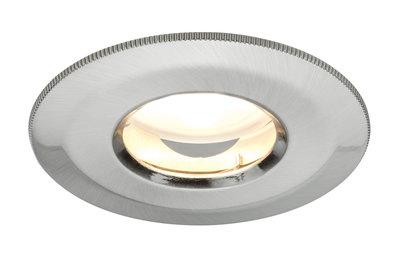 Prem inb IP65 Coin dimb satijn star LED 1x7W 230V 51mm ijzer geb/alu zink