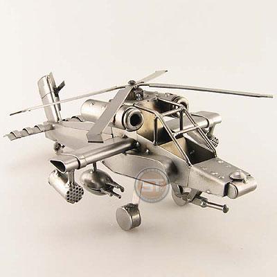 Apache helikopter metalen moerenmannetjes