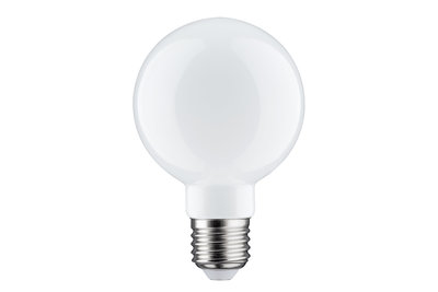 LED Globe 80 filament 6W E27 230V Opaal 2700K dimbaar