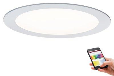 Prem EBL Set SmartPanel BLE RGBW rond LED 1x3,5W 12VA 230V/350mA 225mm wit m/alu
