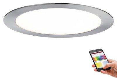 Prem EBL Set SmartPanel BLE RGBW rond LED 1x3,5W 12VA 230V/350mA 225mm ijzer geb