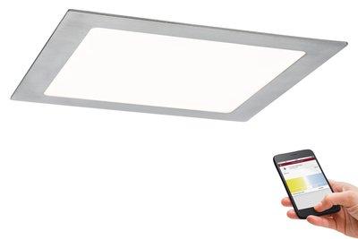 Prem EBL Set SmartPanel BLE tunw hk LED 1x13,5W 15VA 230V/350mA 225x225mm ijzer g