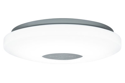 WallCeiling Accento IP44 LED 22W 340mm wit 230V kunststof