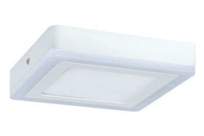 WallCeiling Sol LED-panel 7W 195x195 mm wit 230 V metaal