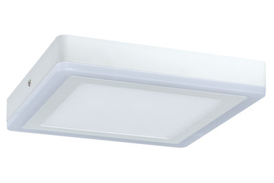 WallCeiling Sol LED-panel 12,2W 245x245 mm wit 230 V metaal