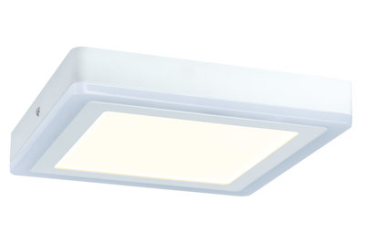 WallCeiling Sol RGB LED-panel 9,4W+4,6W 245x245mm wit 230V metaal