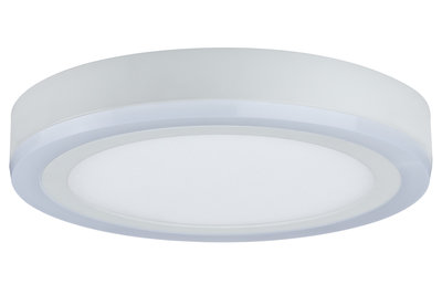 WallCeiling Sol LED-panel 12,2W 245 mm wit 230 V metaal