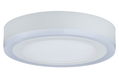WallCeiling Sol RGB LED-panel 9,4W+4,6W 245 mm wit 230 V metaal