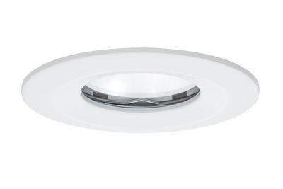 Premium EBL set Coin Slim dim rond stijf IP65 LED 1x6,8W 230V 51mm wit/alu