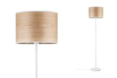 Neordic Neta staande lamp max. 1x20W E27 Hout/wit 230V hout/metaal