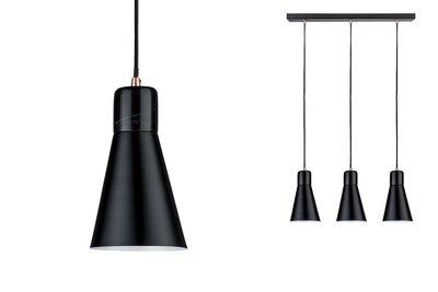 Neordic Ivar hanglamp max. 3x20W E27 Zwart 230V metaal/marmer