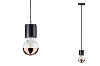 Neordic Soa hanglamp max. 1x20W E27 Zwart 230V marmer