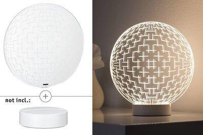 3D-glas Maze helder voor 3D Basic-lampen