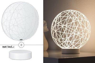 3D-glas Wool helder voor 3D Basic-lampen