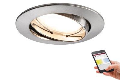 Prem EBL SmartCoin BLE tunw zwb LED 1x4,5W 2700 K-6500K 230V 51mm Fe geb alu zn
