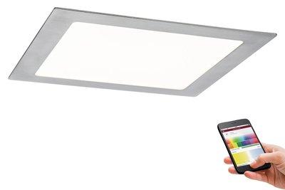 Prem EBL Set SmartPanel BLE RGBW hk LED 1x3,5W 12VA 230V/350mA 225x225mm ijzer g