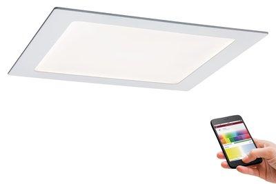 Prem EBL Set SmartPanel BLE RGBW hk LED 1x3,5W 12VA 230/350mA 225x225mm wt mat/a