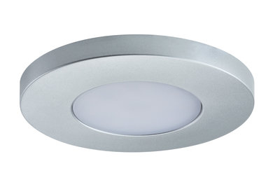 PadLED EcoPad afzonderlijke spot Round 2,2 W Chroom mat