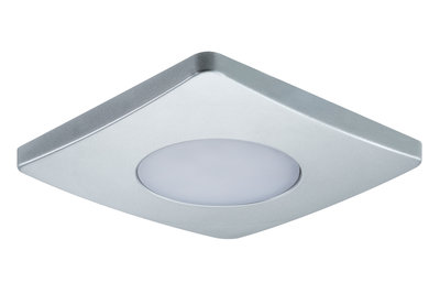 PadLED EcoPad afzonderlijke spot Square 2,2 W Chroom mat
