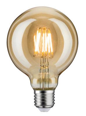 LED Vintage Globe 95 6W E27 230V goud Dimbaar 1700K