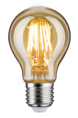 LED Vintage AGL 6W E27 230V goud Dimbaar 1700K