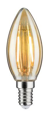 LED Vintage kaars 2W E14 230V goud 1700K